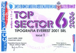 1st Position in Top Companies from Bucharest, District 6