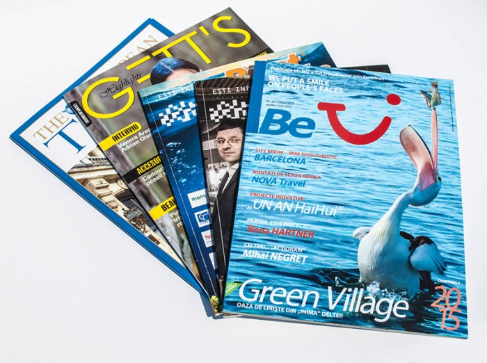 Reviste brosate