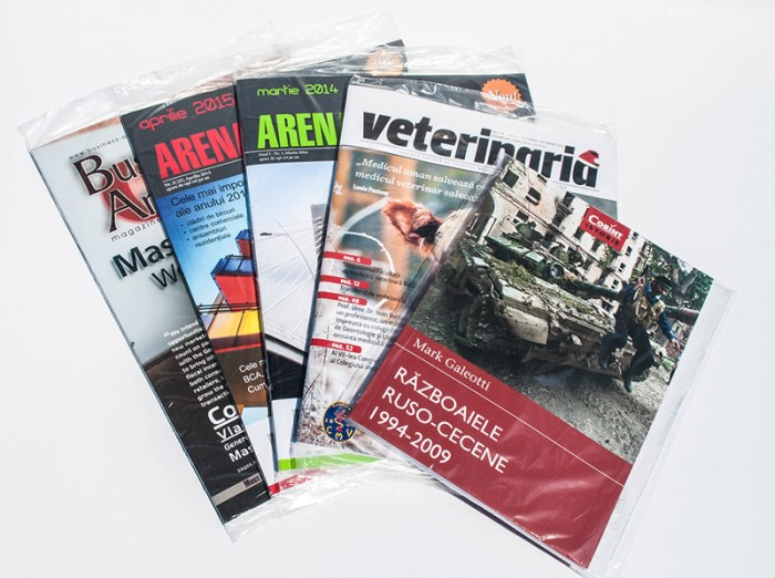 Individually packed magazines