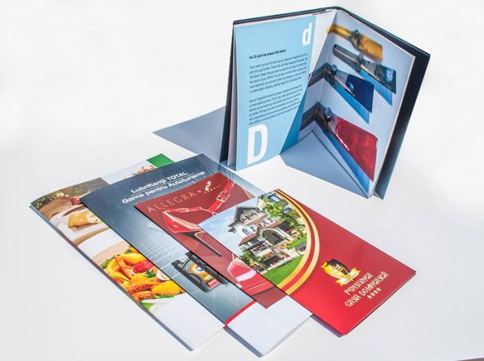 Presentation brochures